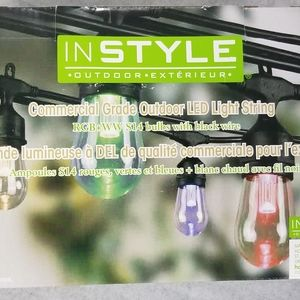 NEW 24' outdoor colour changing LED light string